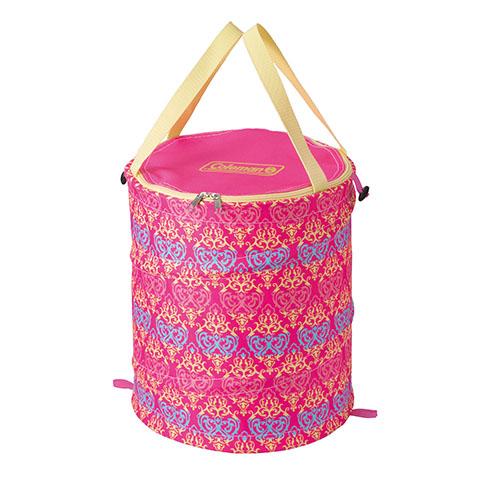 【露營趣】中和 美國 Coleman 紅葉圖騰萬用魔術桶 裝備袋 RV桶 雜物袋 垃圾桶 CM-21914