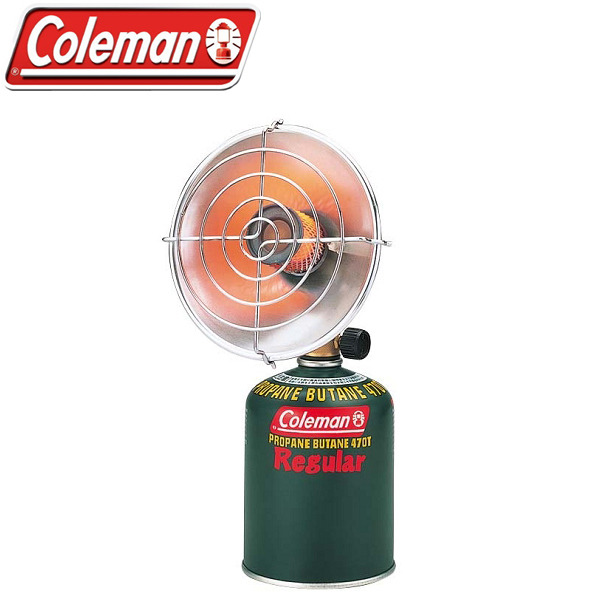 【露營趣】中和 附鋁合金手電筒 Coleman CM-8054 瓦斯暖爐 取暖器 非煤油暖爐