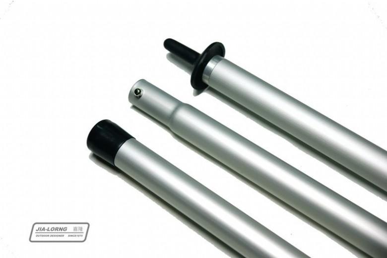 【露營趣】中和 嘉隆 280cm鋁合金營柱(加強版管徑30mm)天幕帳 炊事帳用 TP-138