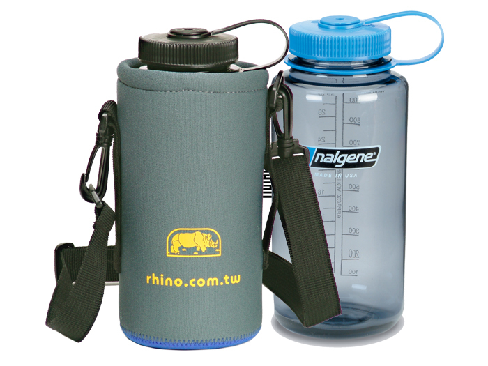【露營趣】中和 犀牛 RHINO 315XL 可揹式 水壺套 保溫 保冰 保冷 休閒水壺套 來勁 Nalgene