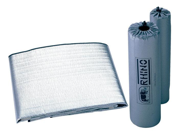 【露營趣】中和 RHINO 犀牛 911 PE發泡鋁箔睡墊 保暖睡墊 登山露營用睡墊 1人