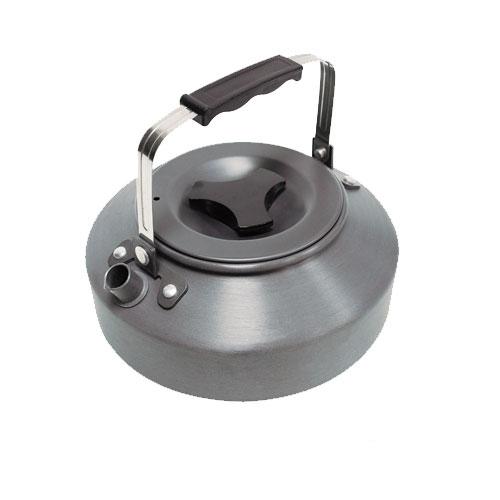 【露營趣】中和 犀牛 RHINO K-35 0.85公升 超輕鋁合金茶壼 咖啡壺 開水壺 燒水壺