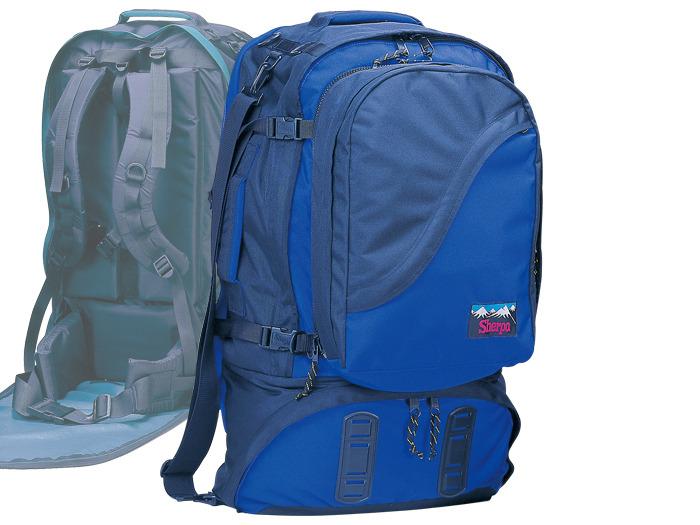 【露營趣】RHINO 犀牛 S298 75公升豪華自助旅行背包 背包客 歐洲 澳洲 遊學 旅行背包 子母背包 母子背包