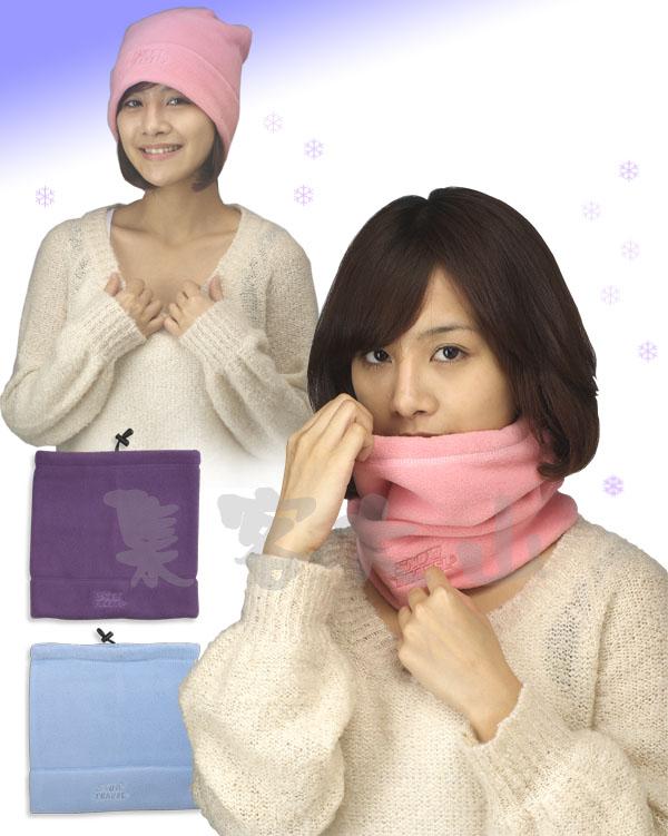 【露營趣】中和 SNOW TRAVEL 美國 POLARTEC 男女兩用圍巾帽 保暖帽 防風帽 保暖圍巾 遮耳帽 AR-16