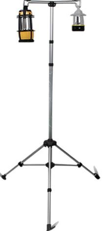 【露營趣】中和 TNR-042 伸縮鋁合金燈架 露營燈架 三角燈架 營燈架 營燈架 燈柱 吊燈架