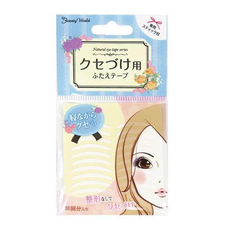 日本 LUCKY 雙眼皮貼布 (雙面) 30對 ENT301 雙眼貼 美目貼【N202122】
