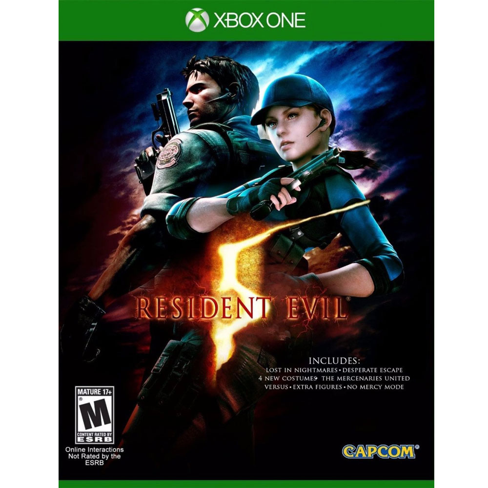 XBOX ONE 惡靈古堡 5 完整版 英文美版 (附所有DLC) RESIDENT EVIL 5