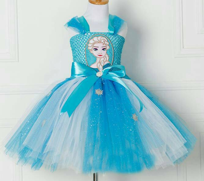 X射線【W380023】艾莎編織裝(藍白),萬聖節服裝/化妝舞會/派對道具/尾牙變裝/cosplay/表演/冰雪奇緣
