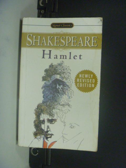 【書寶二手書T9/原文小說_KJK】Hamlet_Shakespeare