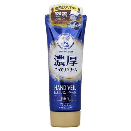 日本曼秀雷敦 HAND VEIL濃厚護手乳 70g 超乾燥肌 護手霜【N200953】