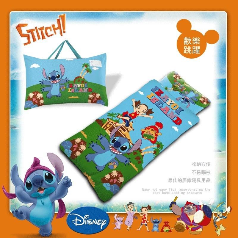 台灣精製 兒童睡袋 冬夏兩用 幼兒園睡袋 卡通睡袋多種圖案 史迪奇睡袋