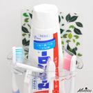 無痕貼 日本MAKINOU輕鬆黏魔力無痕萬用衛浴牙刷架-台灣製 置物架掛勾收納架 牧野丁丁MAKINOU