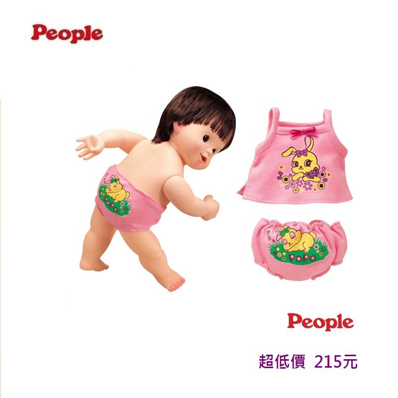 *美馨兒*日本 People -POPO-CHAN洋娃娃系列- 小姊姊粉紅內衣組合215元