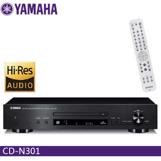 YAMAHA CD-N301 CD/網路音樂播放機 (黑色) 公司貨 0利率 免運