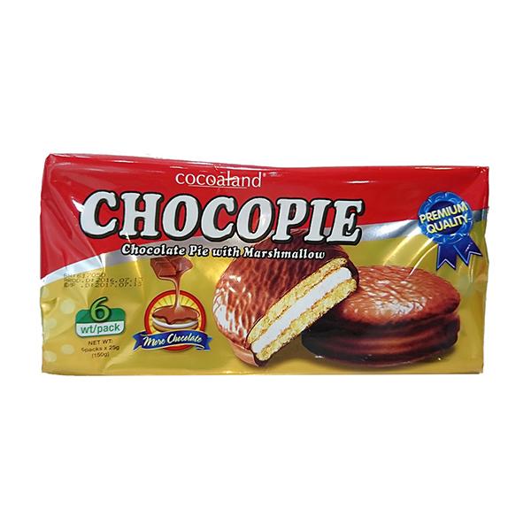 【預購 11月底到貨】Cocoaland 巧克力風味派─150g (6入)