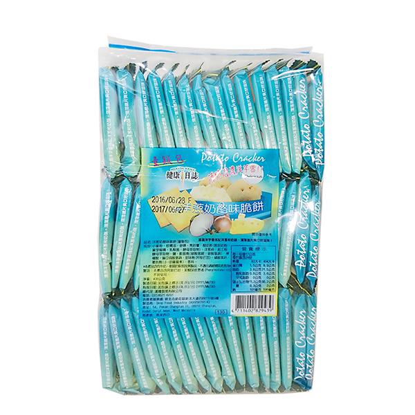 健康日誌洋蔥奶酪味脆餅 (量販包)─408g
