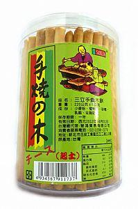 三立─手燒木餅(起士味)(罐裝)220g