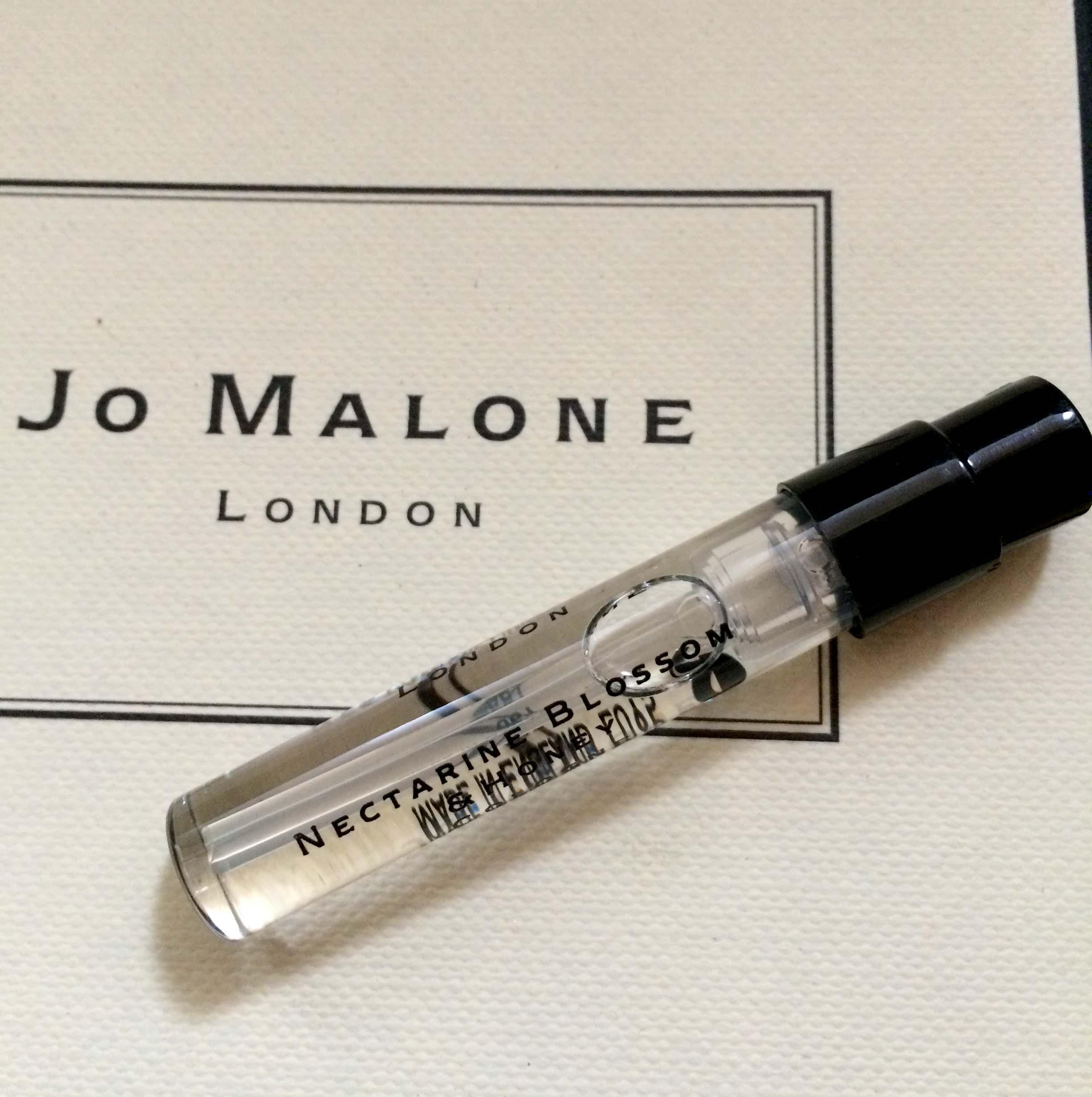 *Realhome*英國香水名牌 Jo Malone 試管小香1.5 ml~杏桃花與蜂蜜