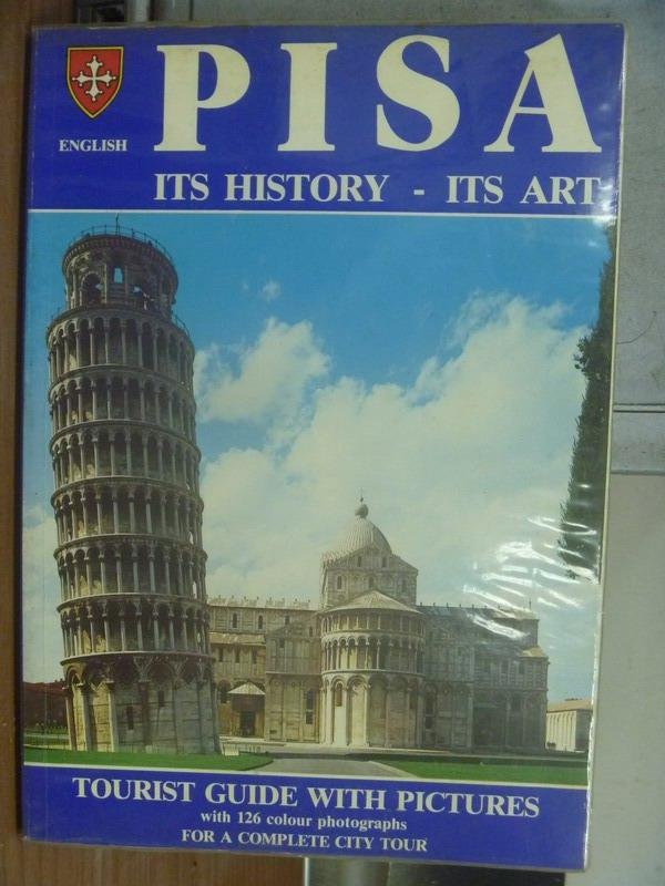 【書寶二手書T7/旅遊_QCY】PISA ITS HISTORY-ITS ART_1981