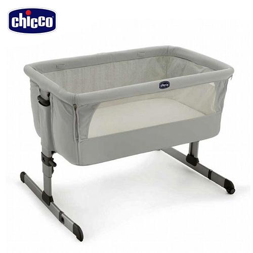 Chicco Next 2 Me多功能移動舒適嬰兒床-雪銀白  next2me 贈好禮