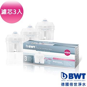 BWT 德國倍世 Mg2+鎂離子八週長效濾芯 (三入一盒) ★獨家鎂離子添加技術 , 歐系品牌濾壺可通用