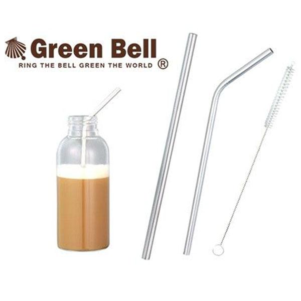 BO雜貨【SV8032】食品級304不銹鋼吸管 附刷子 兒童果汁 咖啡 奶茶吸管 飲料吸管直 / 彎 兩款可選