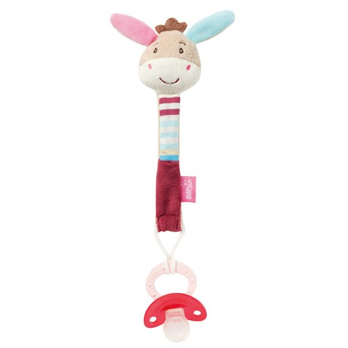 babyFEHN芬恩 - 叢林夥伴小驢布偶奶嘴鍊