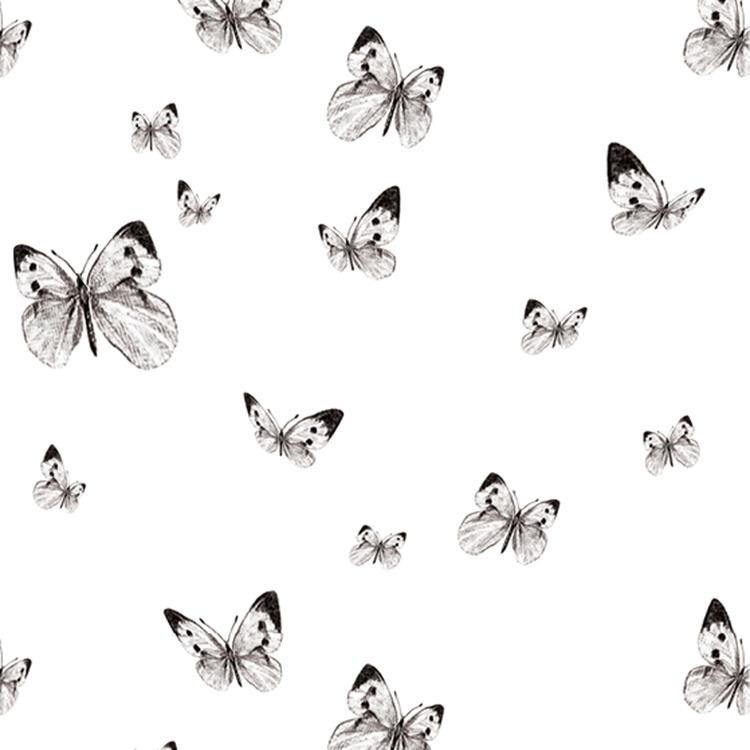 Elli Popp /  Butterfly Valley / P125-01 matt 壁紙 (訂貨單位52cm×10m/卷)