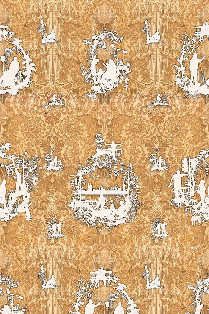 Timorous Beasties / URBAN DECAY / TB/URBD/MICA/01 壁紙 (訂貨單位52cm×10m/卷)