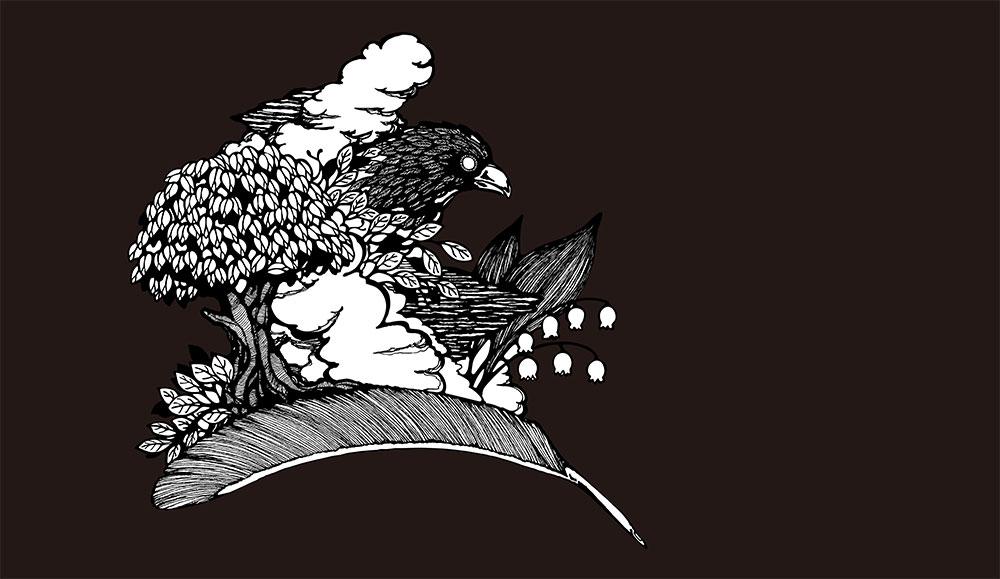 【WALLTZ】 Masahiko Hayashi DEKA / 3 Stories -The Dream of the Young Tree Sprouts Green- 壁紙 「訂貨單位472cm×273.1cm/套(一套十張壁板)」