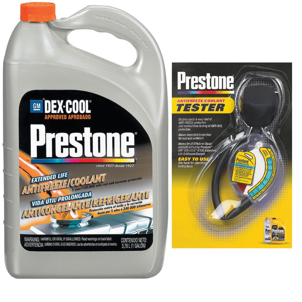 Prestone百適通濃縮極限競技型長效防凍冷卻液/水箱精AF888+水箱精濃度檢測器 AF-1420