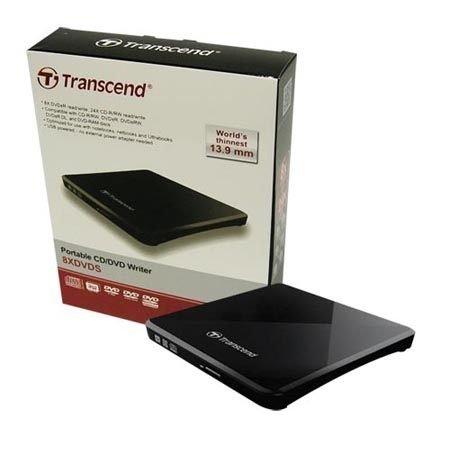 *╯新風尚潮流╭*創見 USB 8x外接式DVD超薄型燒錄機 13.9mm超薄 兩年保固 無需其他電源 TS8XDVDS-K