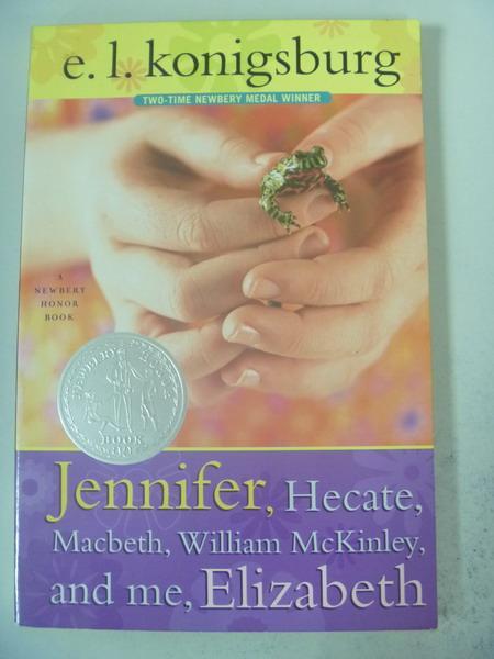 【書寶二手書T8/原文小說_IRS】Jennifer, Hecate...and me, Elizabeth_Konig