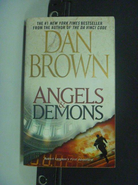 【書寶二手書T9/原文小說_MHY】Angels & Demons