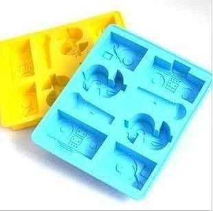 =優生活=洛哈思嘻哈風格製冰盒 手提音響 麥克風 金錢符號 DIY模具 巧克力模具 布丁果凍模具