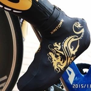 美麗大街【BK104111022】XINTOWN公路車單車鞋套~為你的卡鞋添新衣吧