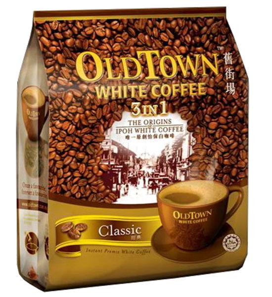 馬來西亞㊣怡保舊街場3合1經典白咖啡(15條/包)