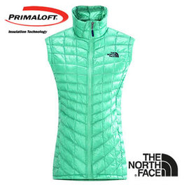 The North Face 女 PrimaLoft ? ThermoBall? 保暖背心 浪花綠 CUD6