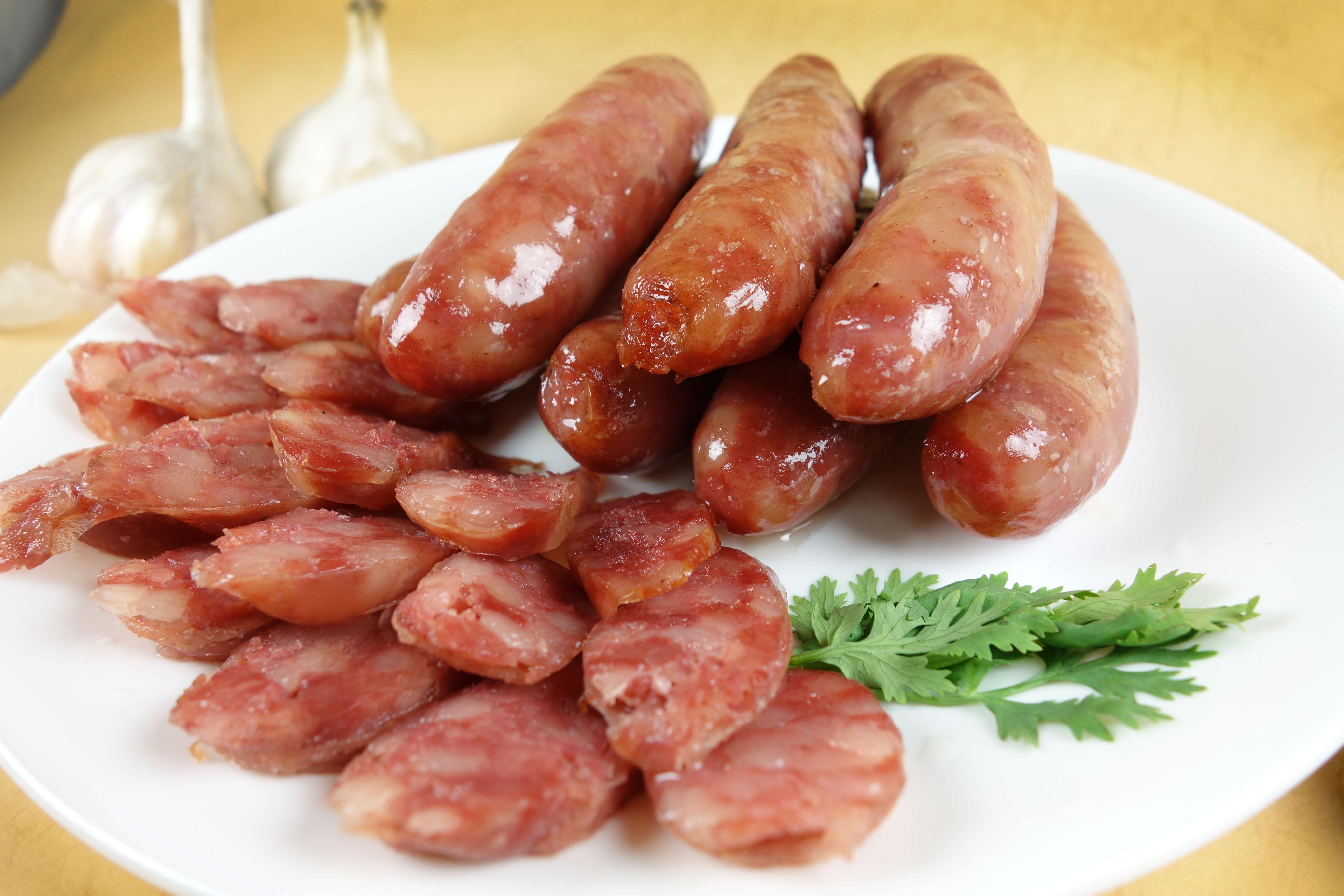 紅麴原味香腸1斤/盒   (600g/12-13條)不含禮盒