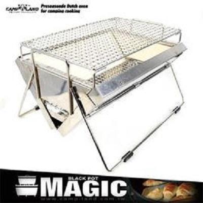 【露營趣】中和 限時特惠 CAMP LAND RV-ST320 遠紅外線陶瓷烤肉爐 桌上型不鏽鋼陶瓷烤爐 烤肉架