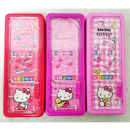 【敵富朗超巿】Hello Kitty彈珠檯筆盒