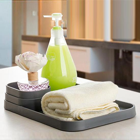 ♚MY COLOR♚廚房瓶罐收納座 調味料 罐頭 分層 整理 托盤 餐桌 茶几 衛浴 防滑 擺飾【R62】