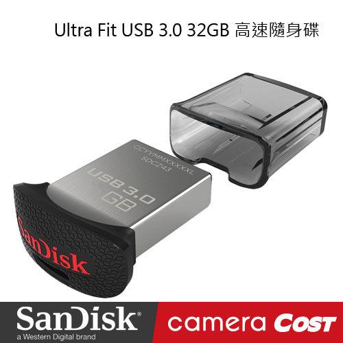 SanDisk Ultra Fit CZ43 USB 3.0 32GB 高速隨身碟 公司貨  原廠保固5年