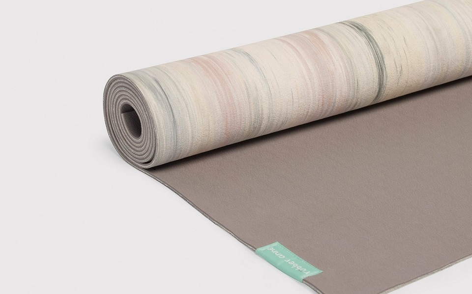 【 rubber anne 】天然橡膠瑜珈墊 -- 流光似水