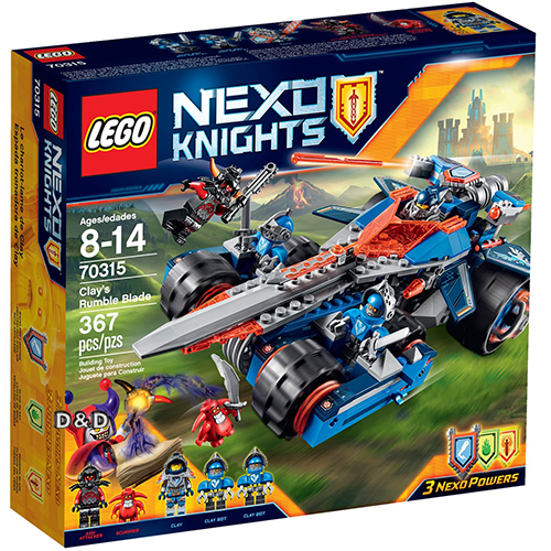 樂高積木LEGO《 LT70315 》Nexo Knights 未來騎士系列 - 克雷的聖劍戰車(每人限購一盒)