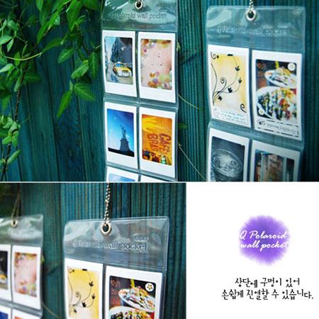 特價49  韓國 吊式透明展示相片套 (Mini 7S 25 8 50S MINI8 8S )拍立得專用【B510073】