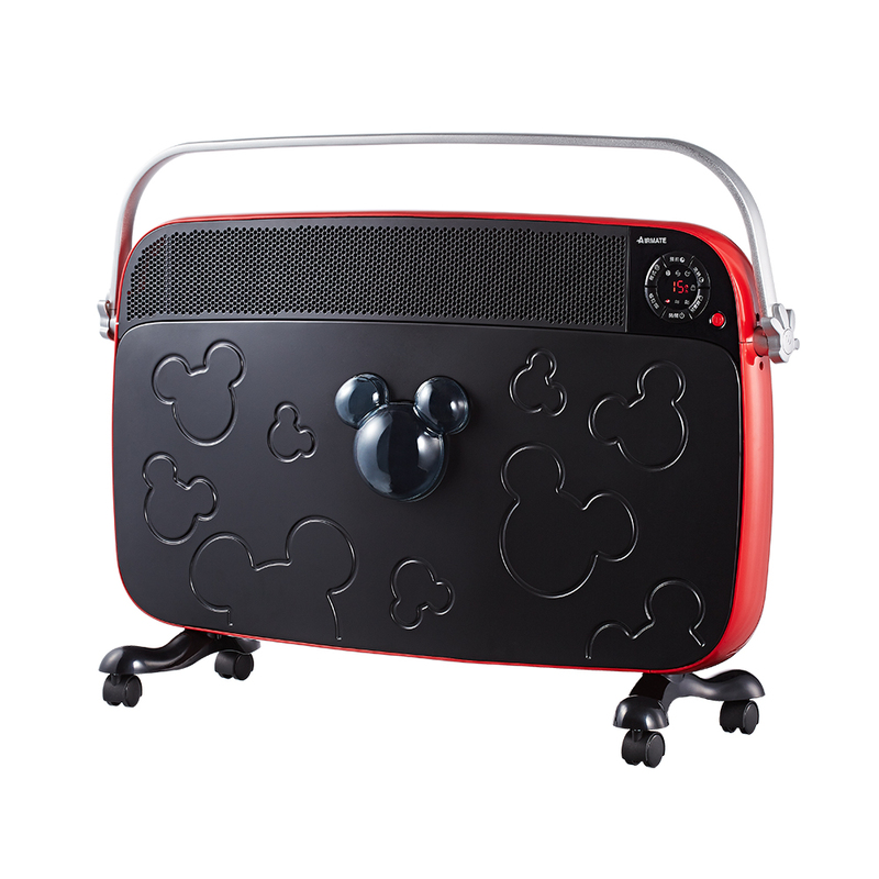 AIRMATE 艾美特 HC13050R  迪士尼米奇系列 即熱式遙控電暖器 買就送雙層不銹鋼保溫飯盒