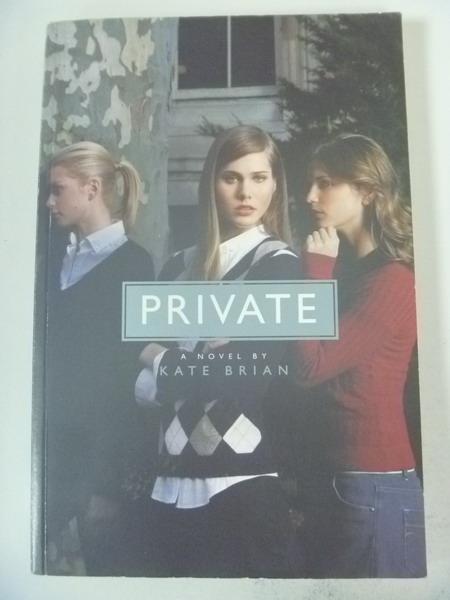 【書寶二手書T7/原文小說_IRT】Private_Kate Brian