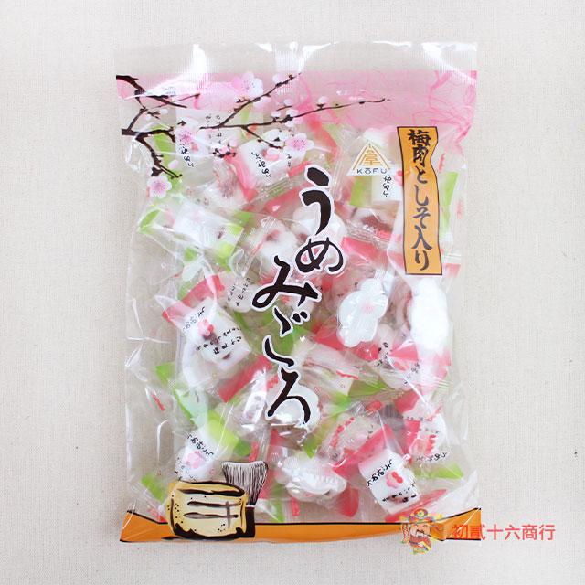 【0216零食會社】日本川口屋梅肉紫蘇夾心落雁糕220g