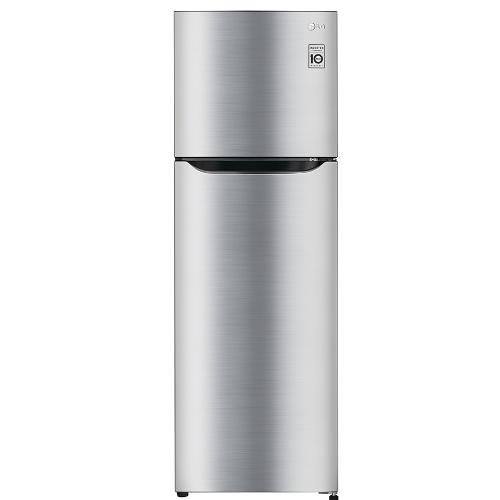買再送好禮!LG 樂金 186L SMART 變頻上下門冰箱-精緻銀【GN-L235SV】【小蔡電器】